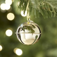 Jingle Bell Ornament - Gold