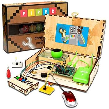 Piper Computer Kit with Minecraft Raspberry Pi edition