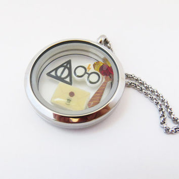 Harry Potter Inspired Floating Locket