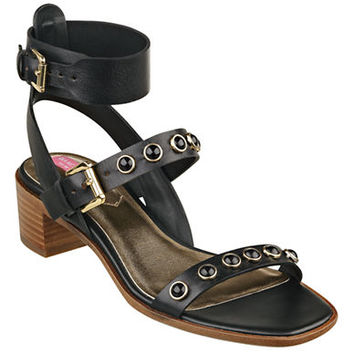 Isaac Mizrahi New York Strap 2 Faux Leather Sandals