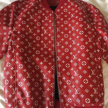 Louis Vuitton Bomber Size S/M size 48 Supreme (read description) BO