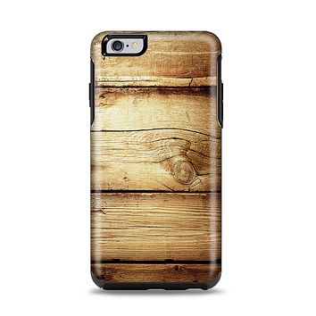 The Old Bolted Wooden Planks Apple iPhone 6 Plus Otterbox Symmetry Case Skin Set