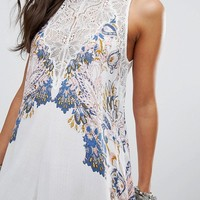 Free People Marsha Printed Slip Dress at asos.com