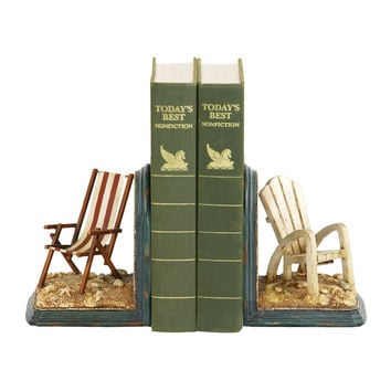 Pair Of Beach Chair Bookends