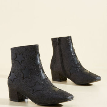 I Feel Starry for You Bootie | Mod Retro Vintage Boots | ModCloth.com