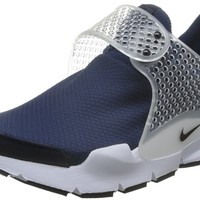 Nike Womens Wmns Sock Dart, MIDNIGHT NAVY/BLACK-WHITE, 5 US