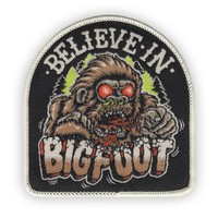 BELIEVE IN BIGFOOT Iron-on Patch