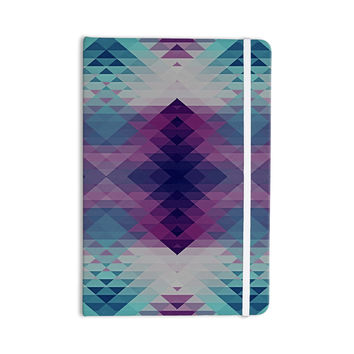 "Nika Martinez ""Hipsterland II"" Purple Teal Everything Notebook"