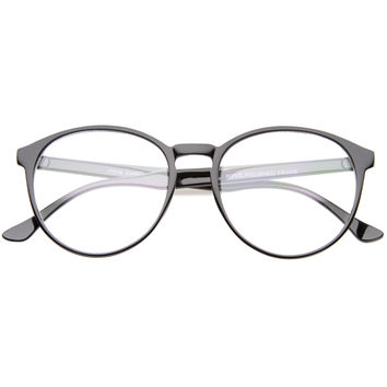 Retro Indie Dapper P3 Clear Lens RX Glasses A369