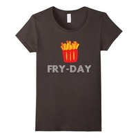 Fry-Day Humor Funny French Fries Food T-Shirt All Sizes