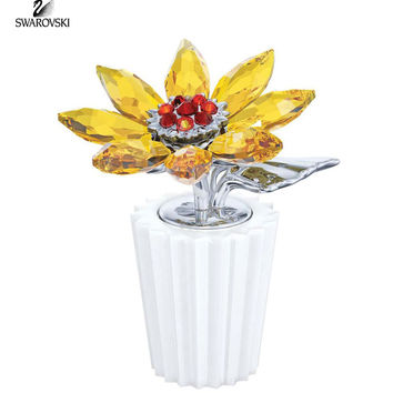 Swarovski Color Crystal Flower Figurine SUNFLOWER #5045568