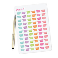 Planner Stickers Laundry Basket