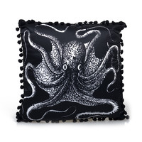 Black Nautical Dream Pillow