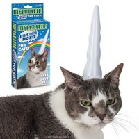 Inflatable Unicorn Horn for Cats: Pet Supplies