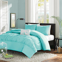 Mizone Haley 4 Piece Comforter Set