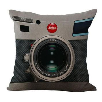 DCCK1IN definite conversation starter fun camera pillow case for those of us who love self