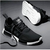 """Adidas"" NMD Trending Fashion Casual Sports Shoes Black"