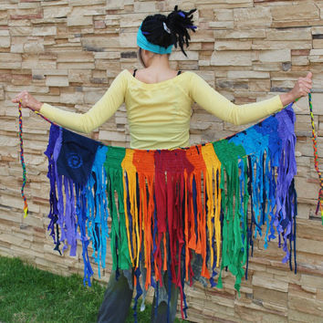 Made for You Custom  RaiNBoW GyPsY  IntersteLLaR WraP SkirT