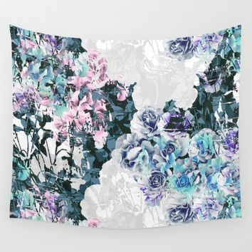 Garden Wall Tapestry by Susanna Nousiainen