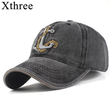 Xthree  winter cotton brand snapback cap baseball cap fitted bone casquette hat famous cap mannen cap hat for men