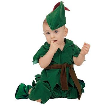Surprise Price Baby Boy Toddler Peter Pan Movie Character Cosplay Fancy Dress Halloween Party Carnival Costumes
