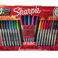 Sharpie Special Edition Fine Point Assorted Colors Permanent Markers 21 Count Package