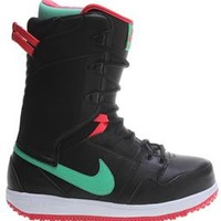 Nike Vapen Snowboard Boots Black/Fusion Red/White/Gamma Green - Womens 2014
