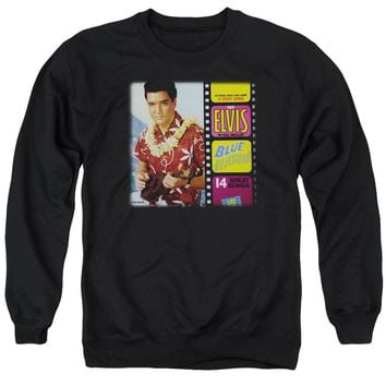 Elvis - Blue Hawaii Album Adult Crewneck Sweatshirt
