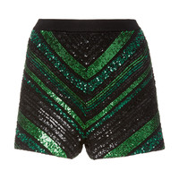 Chevron Knit Shorts | Moda Operandi