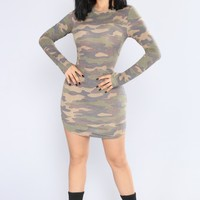 Join My Troops Camo Tunic - Camo