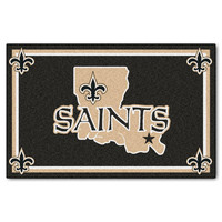 New Orleans Saints NFL Floor Rug (4'x6')