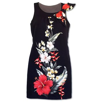 royal hibiscus lana hawaiian tank dress
