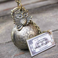 harry potter Enchanted Steampunk Golden by sweethearteverybody