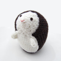 Hedgehog Knitted Toy