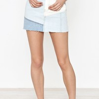 PacSun Colorblock 5-Pocket Mini Skirt at PacSun.com