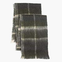 LARKING PLAID SCARF