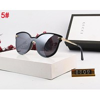 Gucci New Women Men Simple Casual Shades Eyeglasses Glasses Sunglasses 5#