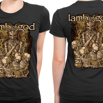 Lamb Of God Pure Congregation Cover 2 Sided Womens T Shirt