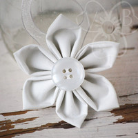 White as Snow holiday ornament from VioletsBuds
