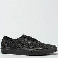 Vans Footwear The Authentic Sneaker in Black Lace