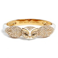 kate spade new york star bright owl hinged bangle | Nordstrom