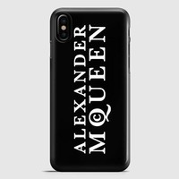 Alexander Mcqueen iPhone X Case