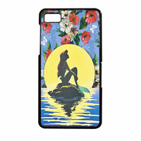 Disney Princess Ariel The Little Mermaid Floral Vintage BlackBerry Z10 Case