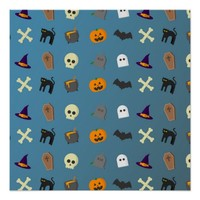 Decorative Halloween Design Poster