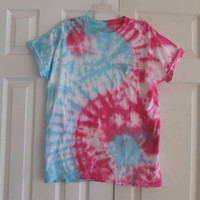 Customizable Yin Yang Tie Dyed Unisex Tee Shirt