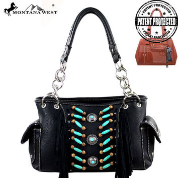 Montana West MW32G-8085 Concealed Carry Handbag