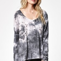 Hometown Child Tie-Dye Henley Top