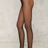 Diamond in the Rough Fishnet Tights