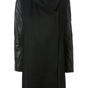 Vince panelled zip coat