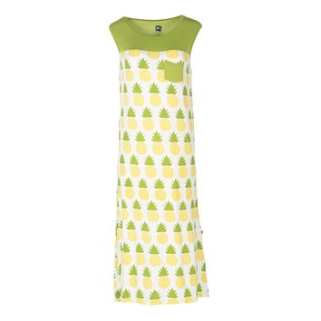 Kickee Pants Spring Anniversary Collection Print Midi Tank Nightgown with Pocket